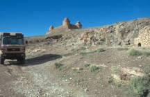 Spanien Castillo über La Calahorra