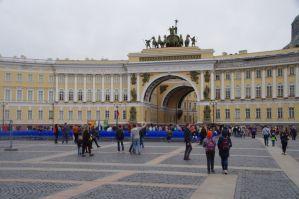Das Tor zum Schlossplatz
