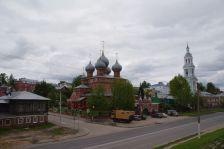 Die Auferstehungskirche Am Walde in Kostroma...