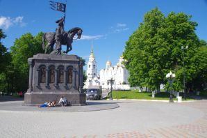 Das Reiterdenkmal Nikolaj Stoletow