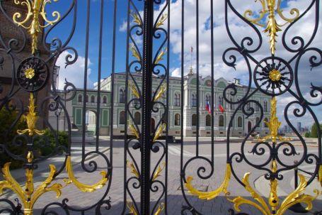 Der Präsidentenpalast von Tartastan