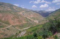 Auffahrt zum Sagirdash-Pass