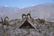 Typischer Mazar - Grabstelle von besonderen einheimischen Personen