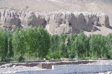 Buddhistische Wohnhöhlen aus dem 4. bis 7. Jahrhundert bei Vrang...