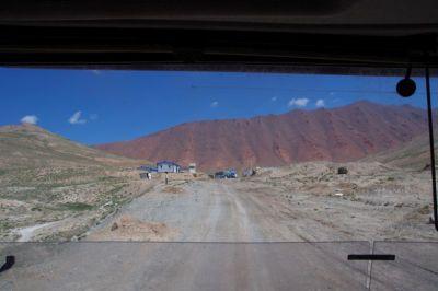 Die tadschikische Grenzstation