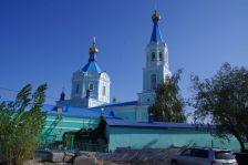 Die Auferstehungskathedrale in Semey