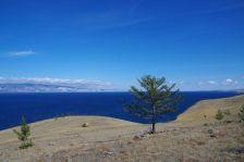 Unser Verweilplatz mit Blick auf Maloe More (kleines Meer)...