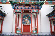 Aufwändige Verzierungen der Tempel ...