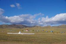 Auf dem Weg zur Mongolei begleiten uns buddhistische Tempel ...