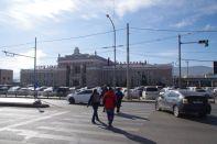 Der Hauptbahnhof ist nicht unser Ziel, sondern das benachbarte Hauptzollamt