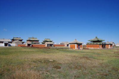 ...ist das älteste buddhistische Kloster (1586) in der Mongolei und nun zu einem Großteil Museum
