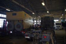 Wiedersehen mit der MAN-Werkstatt in Barnaul