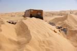 Sandduenen auf dem Weg zum Tembain