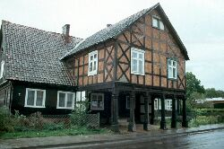 Interessantes Haus an der Weichsel
