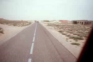 Die marokkanische Grenzstation