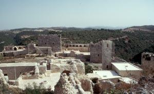 Innenraum der Saladin-Burg