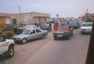 Auf Nouadhibous Hauptstraße