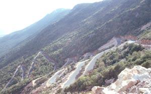 ... auf 8km mit 1000 Höhenmeter