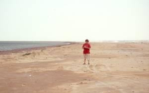 Ein seltenes Exemplar am PNBA-Strand