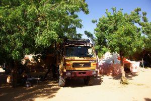 Unser schöner Stellplatz im Bab Sahara
