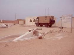 Die PNBA-Kontrollstation Nouamghar