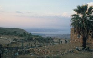 Umm Qais - mit Blick auf den See Genezareth