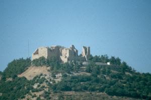 Die Burg Qual`at ar Rabadh (Ajlun)