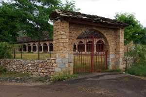 Die Basilika Shen Mehilli ohne Kirchturm...