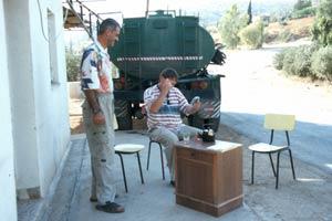 Zu Gast beim Wächter des King Talal Staudamms