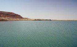 Salzsee bei Al Jagbub