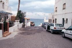 Durchfahrt durch Las Negras