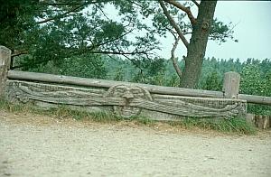 Skulptur auf der Nehrung