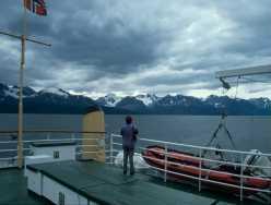 Blick auf die Gletscher