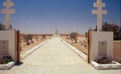 Französischer Mahnmal-Friedhof in Tobruq