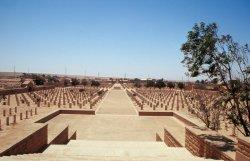 Englischer Mahnmal-Friedhof in Tobruq