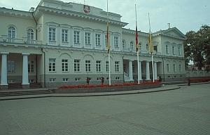 Vilnius - Der Präsidentenpalast