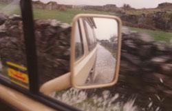 Straße nach Galway