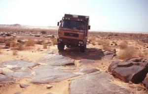 Bis Atar gibt es nur noch Steine, Felsen...