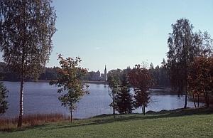 Hübscher See auf dem Weg nach Norden