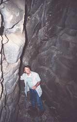 Vulkanschlund auf Methana