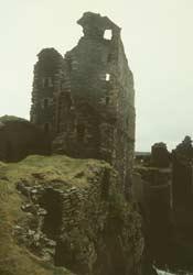 Girnigoe und Sinclair Castle