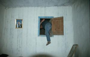 Einstieg in den Wehrturm