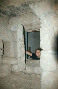 Netter Ausblick aus dem Wehrturm