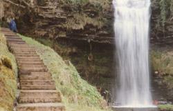 Wasserfall Glencar-See