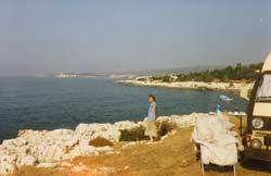 Strand vor der Kiz Kalesi