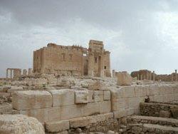Der Baal-Tempel im Allerheiligstenbezirk