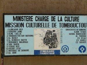 Stadtplan von Timbuktu