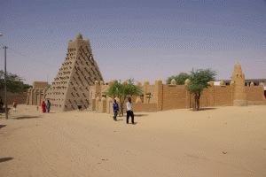 Karawanenplatz mit Sankoré Moschee