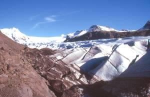 Auf der Gletscherzunge des Svinafellsjökull...