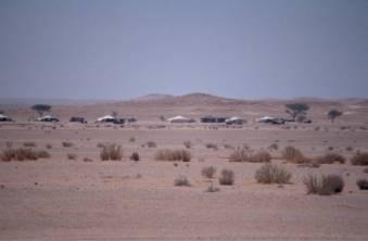 Nomadencamp auf der Strecke nach Asch Shwayrif